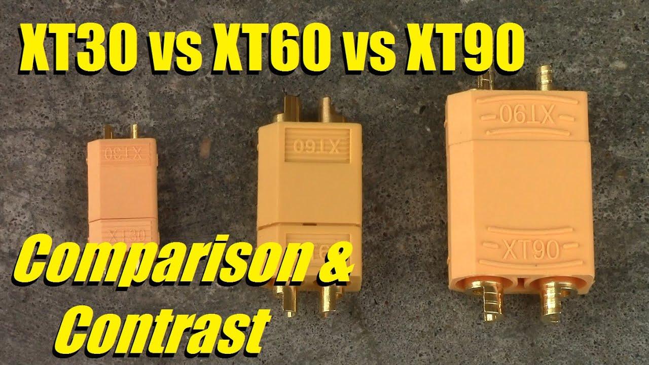 Conectores XT 60  battery connectors connecteurs de la batterie connettori  XT