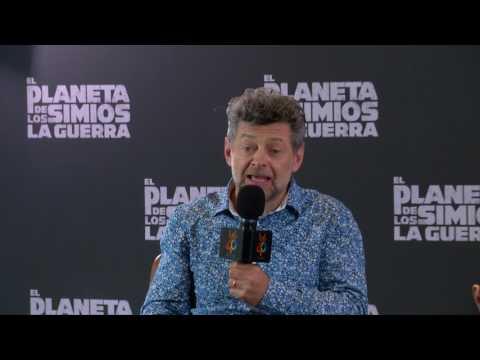 """LOS40Videochat de """"El planeta de los simios: La guerra"""" con Andy Serkis"""