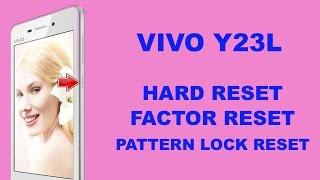 Vivo Y23L Hard Reset