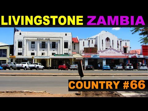 A Tourist's Guide to Livingstone, Zambia
