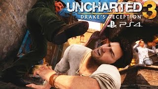 Uncharted 3: Drake's Deception PS4 Remastered - All Death Scenes Compilation