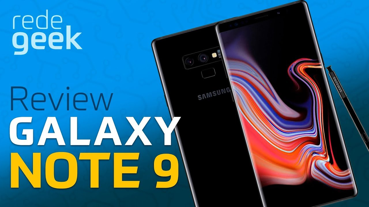 9f1f1fb23 Review Samsung Galaxy Note 9! Vale a pena  - YouTube