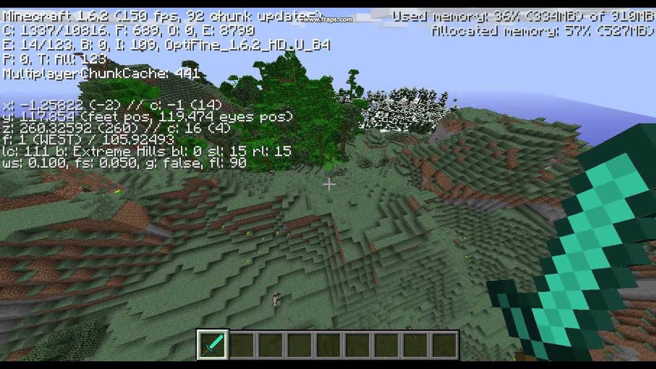 Nvidia Gtx 760 Minecraft Benchmark Youtube