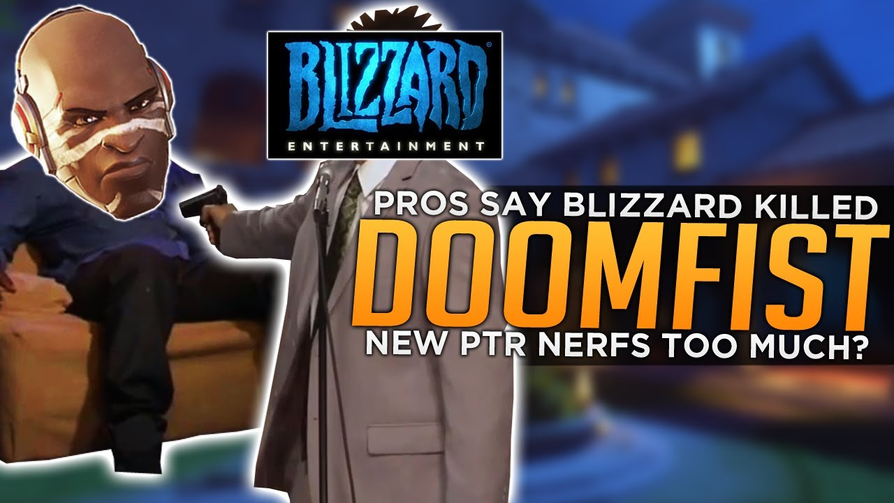 Overwatch: Pros Say Blizzard Killed Doomfist! - Was He Nerfed Too Much? thumbnail