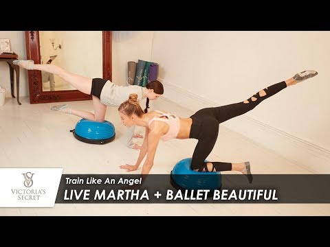 Train Like An Angel: Live Martha + Ballet Beautiful