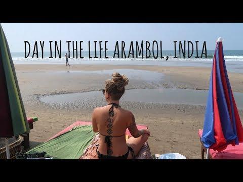 DAY IN THE LIFE, ARAMBOL, INDIA // HENNA FAIL