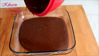 Bol soslu ISLAK KEK TARİFİ (browni tadında nefis bir kek) | Kibarin mutfagi
