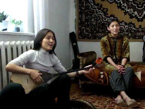 Kazakh Anara & Dinara