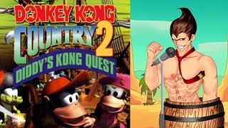 Donkey Kong Country 2 - Welcome to Crocodile Isle - Cover