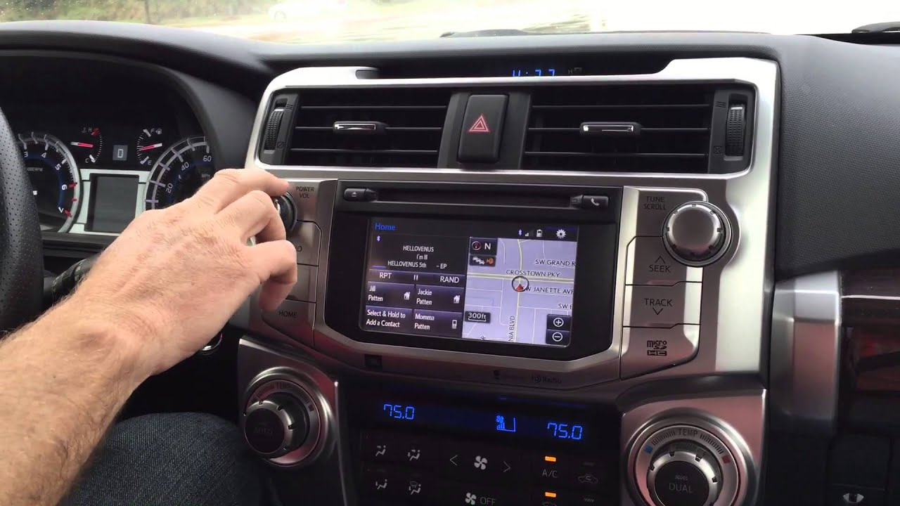 Tundra Limited 2016 >> 2014 Toyota 4Runner Radio Problems - YouTube