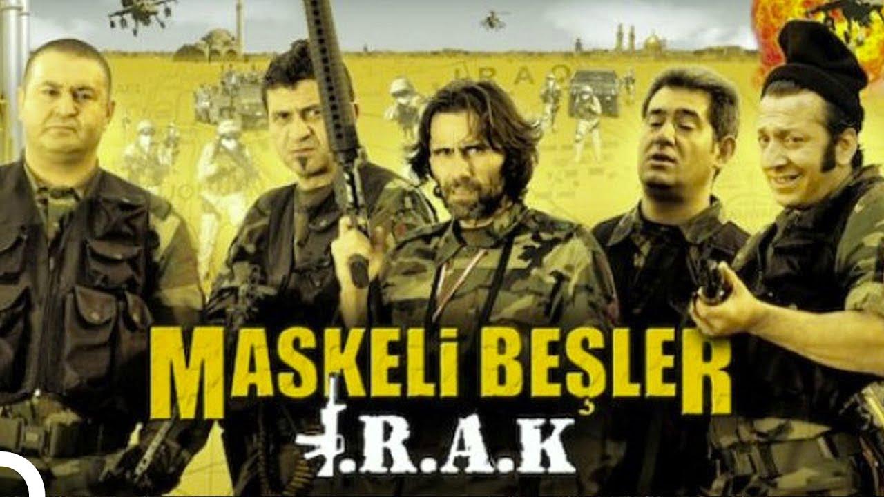 Maskeli Beşler: Irak | Şafak Sezer Türk Komedi Filmi | Full Film İzle (HD)