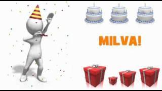 HAPPY BIRTHDAY MILVA!