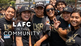 LAFC in the Community: Bresee Foundation Backpack Giveaway