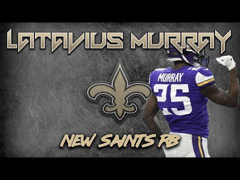 Saints sign RB Latavius Murray | Analysis & Short Film Study
