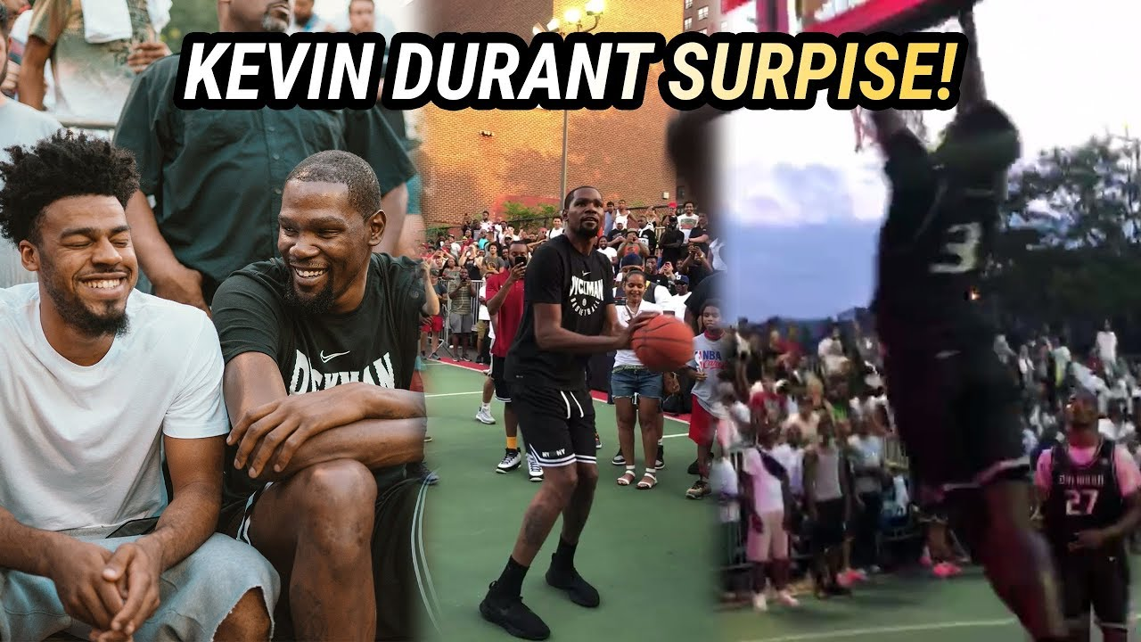 0481ae36db8a Kevin Durant Pulled Up To DYCKMAN! Shuts Down NYC With SURPRISE VISIT 🔥