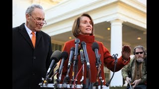WATCH LIVE: Speaker Pelosi and Sen Schumer hold news conference on the government shutdown