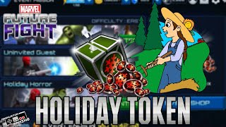 marvel future fight how to farm holiday token