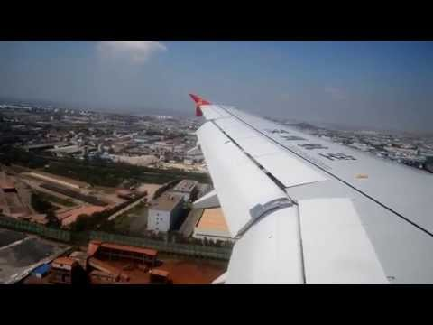 Shenzhen Airlines Airbus A320 Harbin-Qingdao + Take-off and Landing