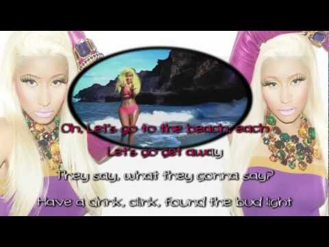 Nicki Minaj - Starships [Karaoke/Instrumental] With Lyrics
