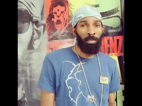 Spragga Benz Big Ups Rastafari JAMS (REGGAE Radio station)