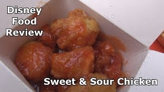 Our second Disney Video Food Review focuses on Sweet and Sour Chick...