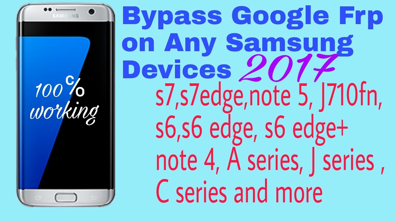 bypass remove Google account verification FRP lock on any Samsung phones (tested)