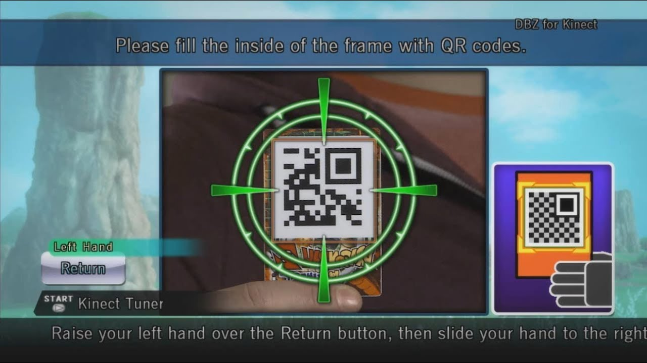 dragon ball legends qr code