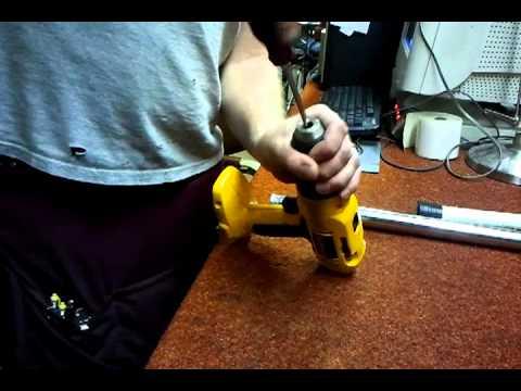 Dewalt drill chuck stuck open
