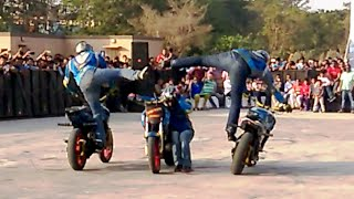 GHOST RIDERS at Hyderabad 2016 (Best Stunt Riders in India)