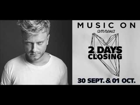 Joey Daniel @ Amnesia Music On Closing Day 2 01/10/2016