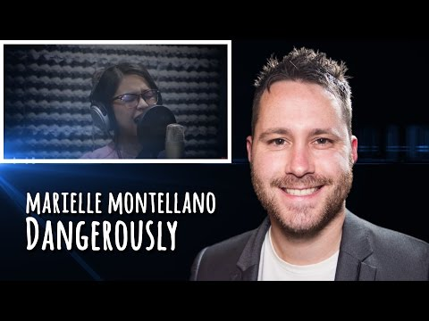Marielle Montellano - 'Dangerously' Cover (by Charlie Puth) | REACTION