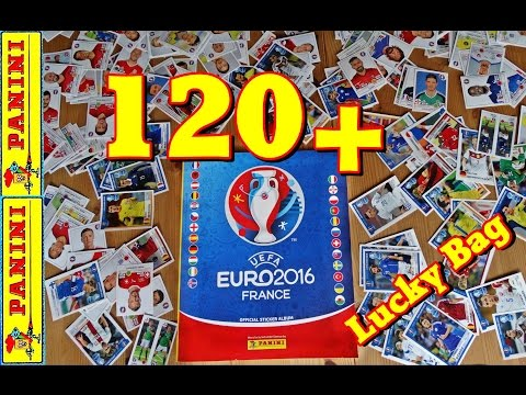 ⚽ 120 + PANINI UEFA EURO 2016 FRANCE new OFFICIAL STICKER UPDATE - ALBUM EM Frankreich EXTRA No1
