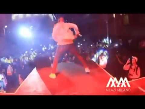Okmalumkoolkat doing Durban Bhenga dance 2017
