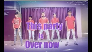 This Party Is Over Now | Dance | Choreography | Step-Up Dance Academy Dhar MP