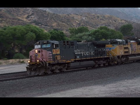 Railfanning BNSF, Union Pacific, and Amtrak in the Los Angeles Basin