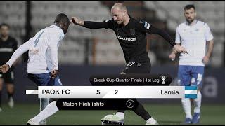 Τα στιγμιότυπα του ΠΑΟΚ-Λαμία - PAOK TV
