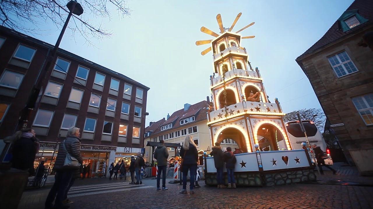 Der Osnabrucker Weihnachtsmarkt Im Zeitraffer