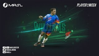 MASL Week 11 Player of the Week - Kiel Williams