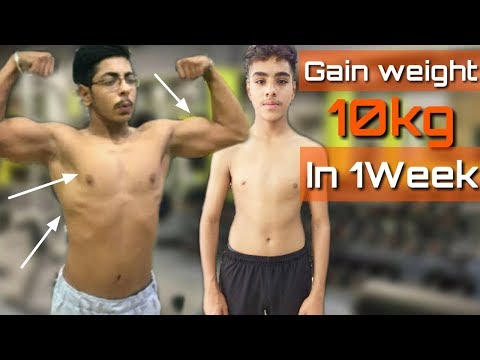 How To Gain Weight In 2Days Men And Women | How To Gain Weight Fast For Skinny Guys #gainweight