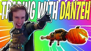 Stream Highlights #5 - Getting a Nature Jacko From DAN7EH! | Fortnite Save The World Funny Moments