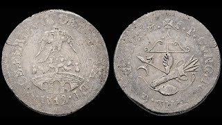 La Primera Moneda Mexicana con el Escudo Nacional