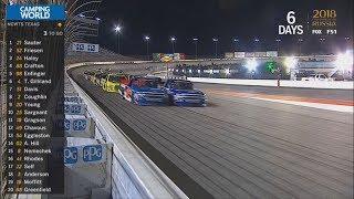 NASCAR Camping World Truck Series 2018. Texas Motor Speedway. Final Laps