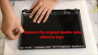 Sony VAIO Pro 13 SVP132 Touchscreen Digitizer Removal and Replacement