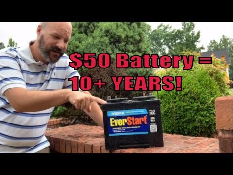 What?  $50 Marine Battery That Lasts 10 Years!!