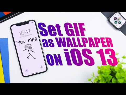 Set Any GIF As An IPhone Wallpaper On IOS 13