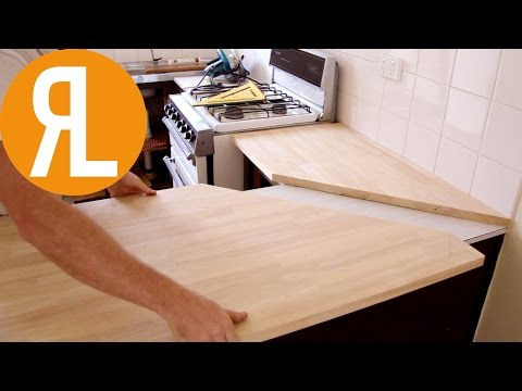 How To Install A Countertop (Without Removing The Old One)