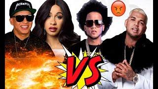 Cardi B graba con El Alfa El Jefe VS El Mayor Clasico con Daddy Yankee | Gezzy TV