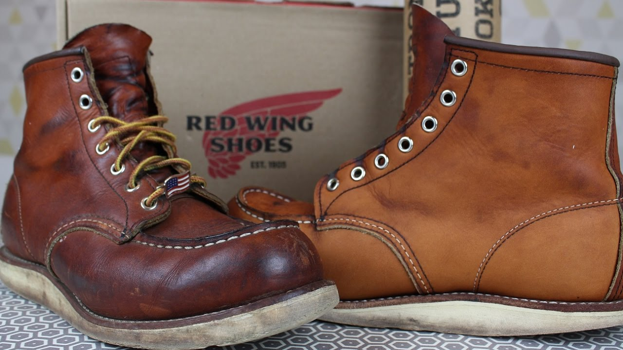 RECONDITIONING YOUR RED WING BOOTS: Saddle Soap, Conditioning ...
