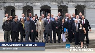 VIDEO: California Legislative Day, Trio with KCH, Protech Expands