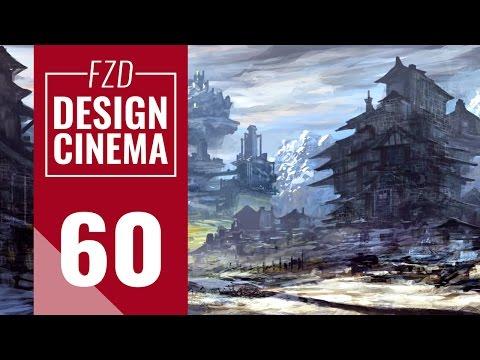 Design Cinema – EP 60 - Realtime Fantasy Landscape Painting